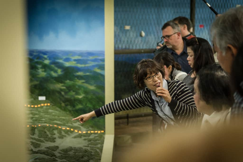 VIP 트래블 투어 가이드와 함께하는 DMZ 전시장