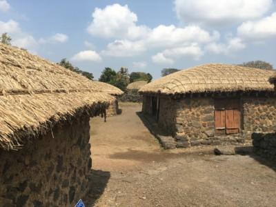 제주도 민속촌 전통 가옥